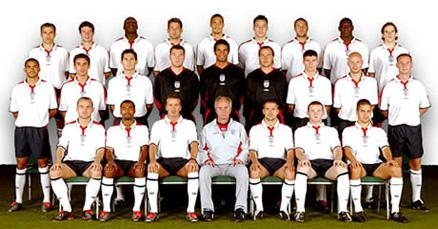 The 2006 England Team