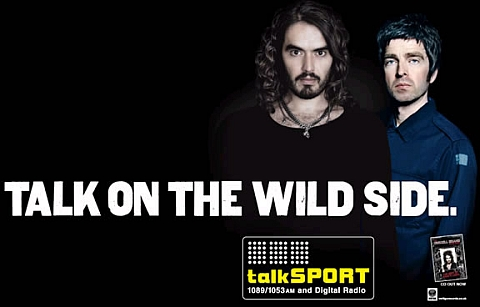 Russell Brand and Noel Gallagher on Talksport