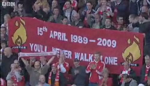 Hillsborough remembered at Anfield