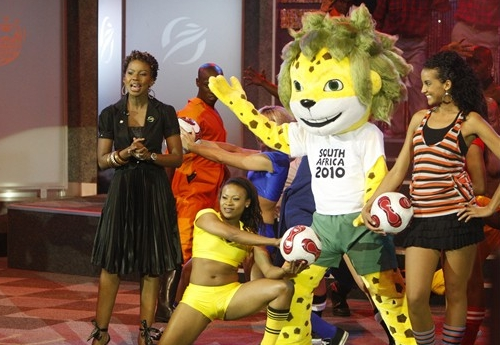 The 2010 South Africa World Cup mascot