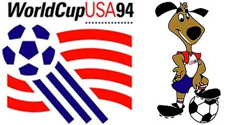 USA 94 logo and mascot