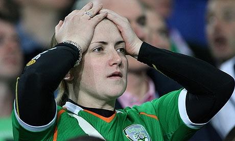 Republic of Ireland fan v France