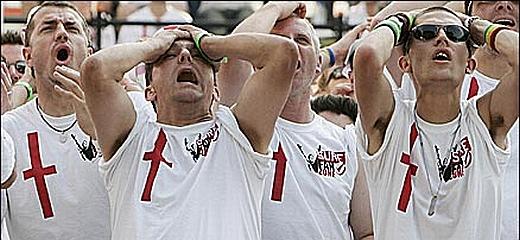 England footie fans