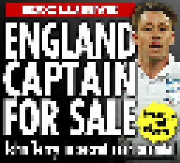 England captain for sale